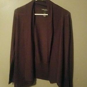 Brown SP sweater, EUC